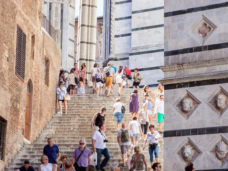 Spiraling up Siena