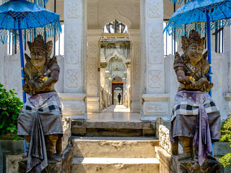 Ujung Water Palace III, Bali
