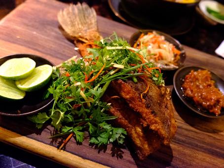 Eat Fish, Amankila, Bali