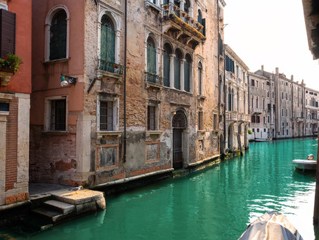 Lost Canal in Venice