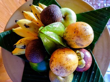 Fruit Platter, Amankila, Bali