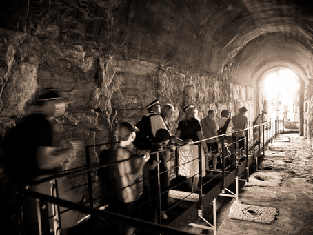 In the Bowels of the Roman Colosseum
