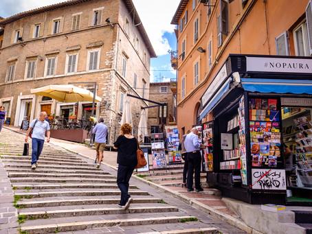 Newsstand, Perugia