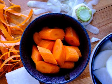 Carrots and Daikon Prep I