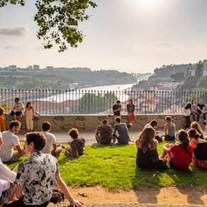 Relaxing Evening, Porto, Portugal