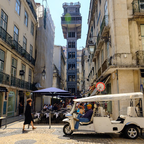 Santa Justa, Lisbon, Portugal