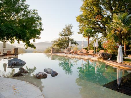 Poolside at Borgo Santo Pietro
