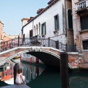 Underneath the bridge, Venice
