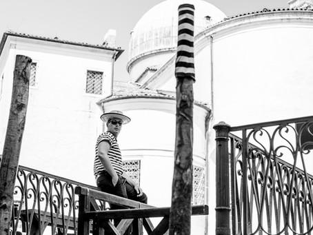 Resting Gondolier, Venice