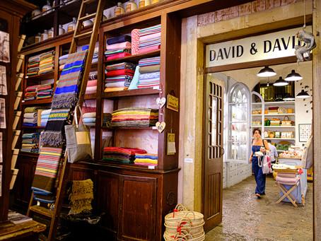 David & David, Lisbon, Portugal