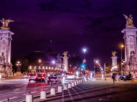 Pont Alexandre III at night, Paris