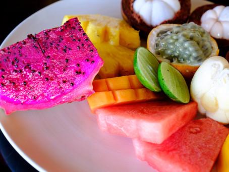 Breakfast Fruit, Amankila, Bali