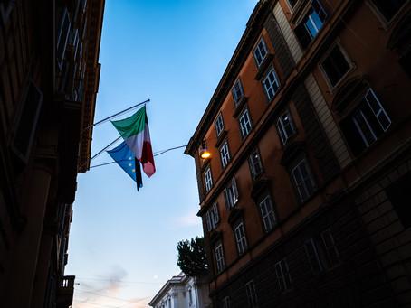 Night Stroll in Rome