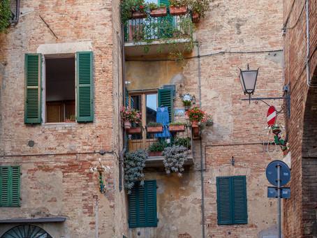 Alley in Siena