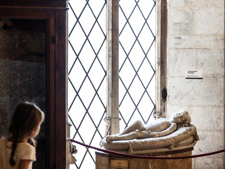 Girl at Siena Cathedral