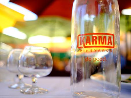 """Karma Vineyards """"Do Good"""", Lake Chelan"""