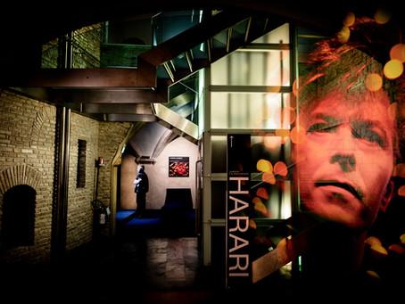 David Bowie at Harari Exhibit, Perugia