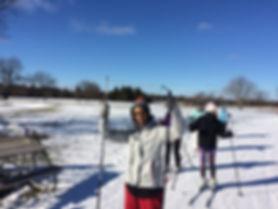 umich gradswe cross country ski trip