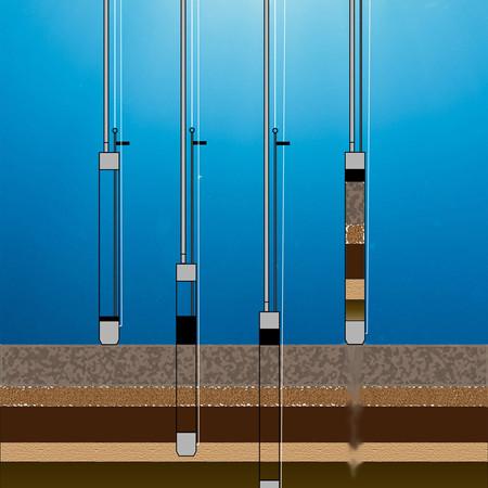 Sediment Sampling Layers