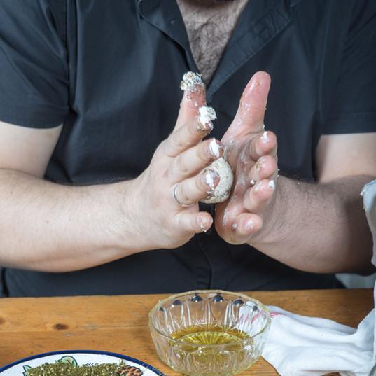 Käsebällchen