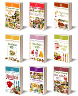 3D cover of 10 ebooks