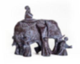 Blind men and an elephant. Слепые и слон.