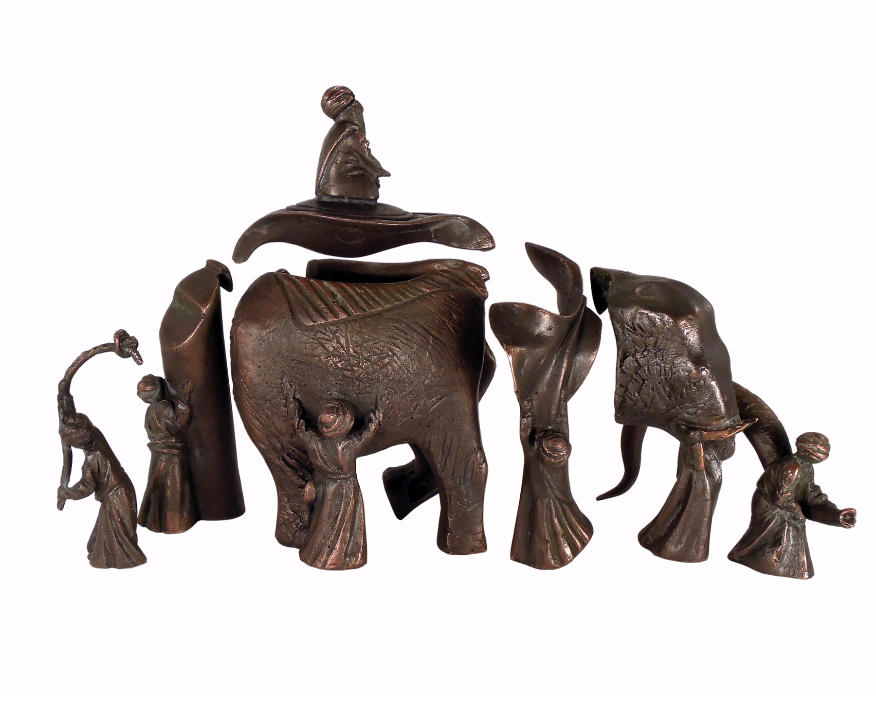 Blind men and an elephant (grb)
