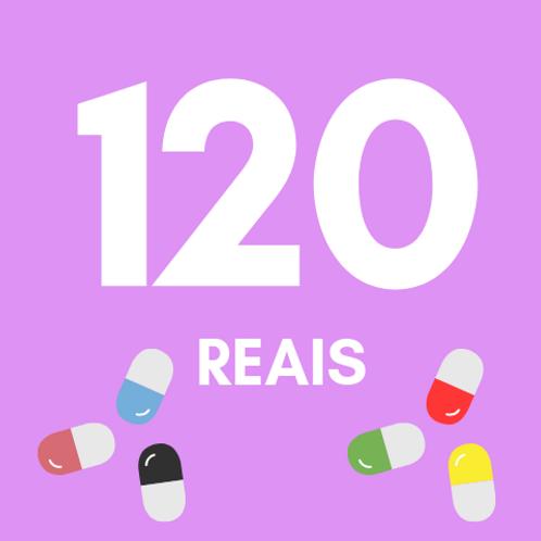 120 Reais :: Fundação do Câncer - Braulio