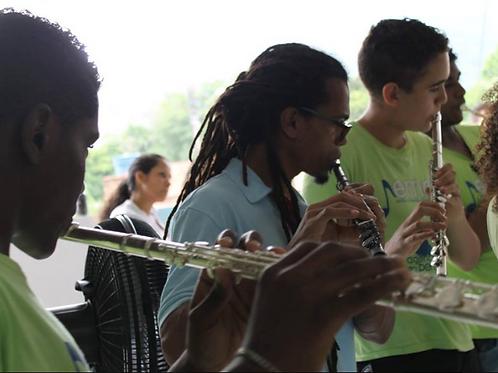 Flauta Transversa :: ONG Agência do Bem - Antonio