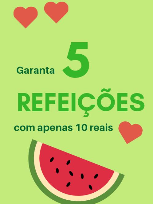 5 Refeições :: Banco de Alimentos