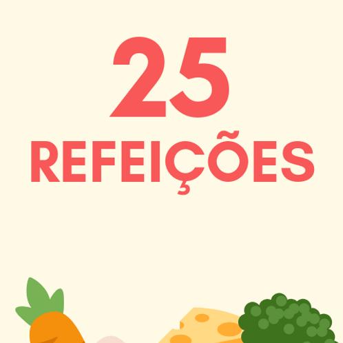 25 Refeições :: Banco de Alimentos