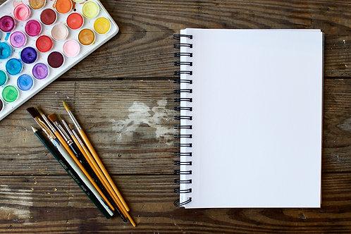 Pincel para pintura (com 12) 2 unidades : ONG Agência do Bem - Festa da Aninha