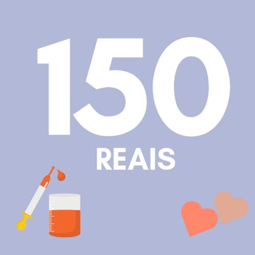 150 Reais :: Fundação do Câncer - Renata