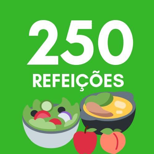 Refeições para 250 pessoas :: Ação da Cidadania
