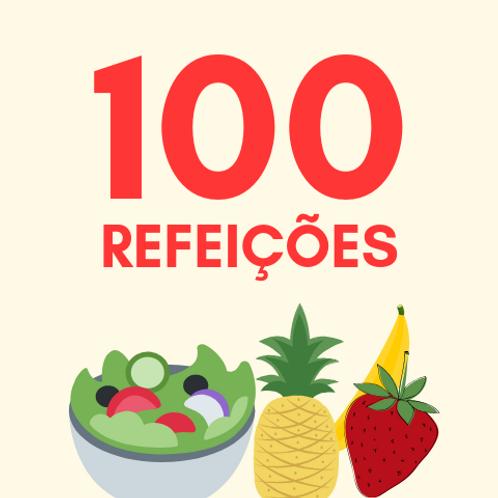 Refeições para 100 pessoas :: Ação da Cidadania - Victor