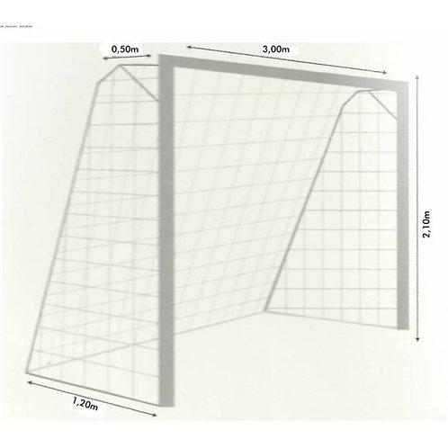 Par de Rede para Trave de Gol Futsal Fio 2mm Nylon – 1 par :: Semeando Amor