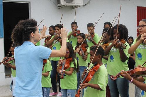 Espaleira Violino 3/4 e 4/4 - 100 peças :: Agência do Bem - Raquel
