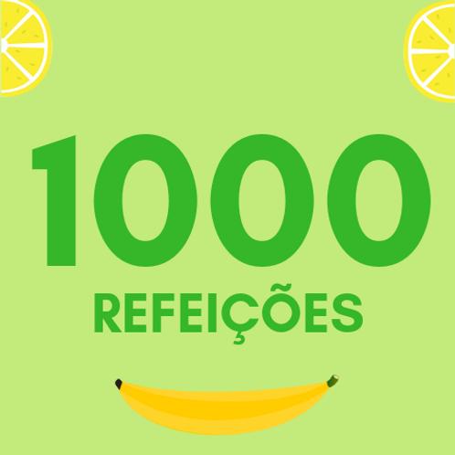 Refeições para 1000 pessoas :: Ação da Cidadania - Victor