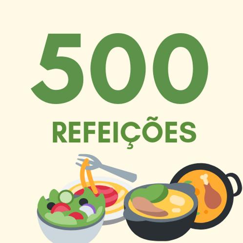 Refeições para 500 pessoas :: Ação da Cidadania - Victor