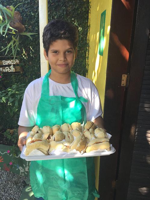 Assadeira Lisa de Panificação 58x70cmFlandres:ONG Casa Arte Vida - Festa da Elen