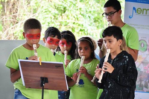 10 Flautas Doce :: ONG Agência do Bem - Festa da Aninha