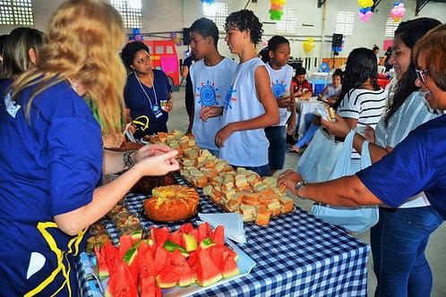 Alimentação | Refeição Mensal pra 10 crianças :: Gamboa Ação - Cuia
