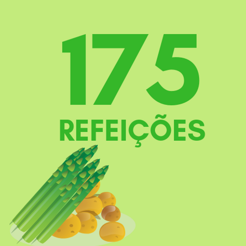 Refeições para 175 pessoas :: Ação da Cidadania - Victor