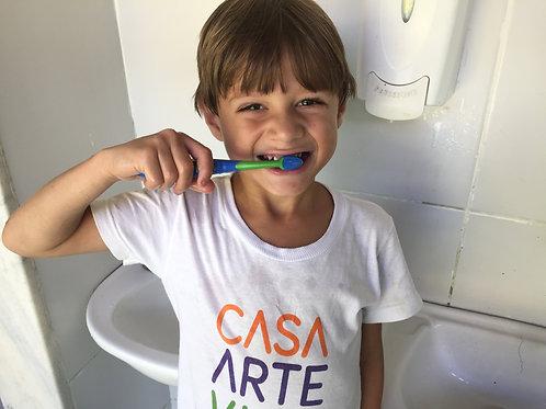 2 kits de higiene bucal : ONG Casa Arte Vida
