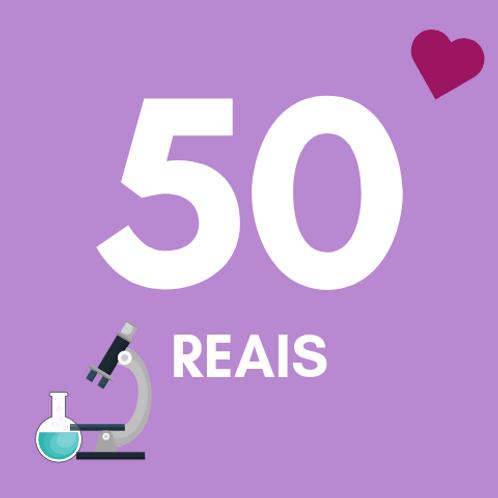 50 Reais :: Fundação do Câncer - Braulio