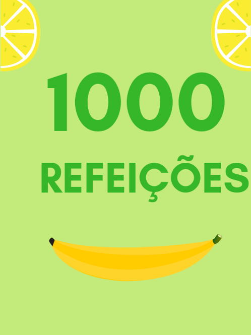 1000 Refeições :: Banco de Alimentos