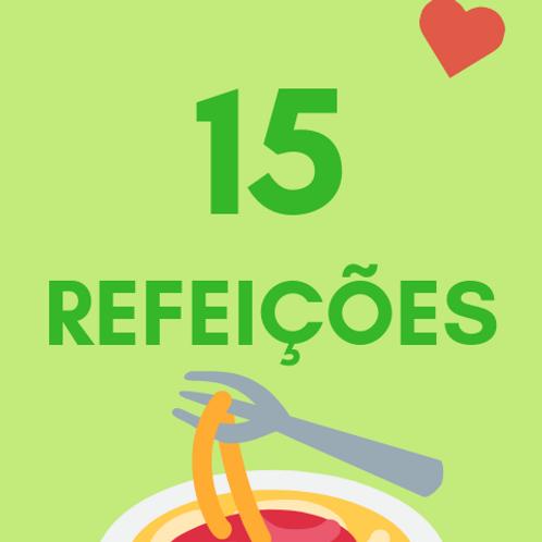 15 Refeições :: Banco de Alimentos