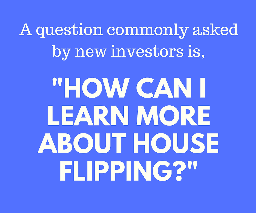 Infographic quote about house flipping.