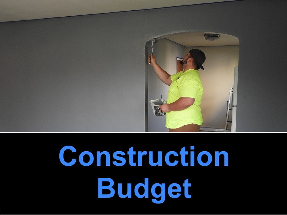 Infographic of house flipping construction remodel budget.