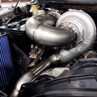 cummins twin turbo s400 turbo kit